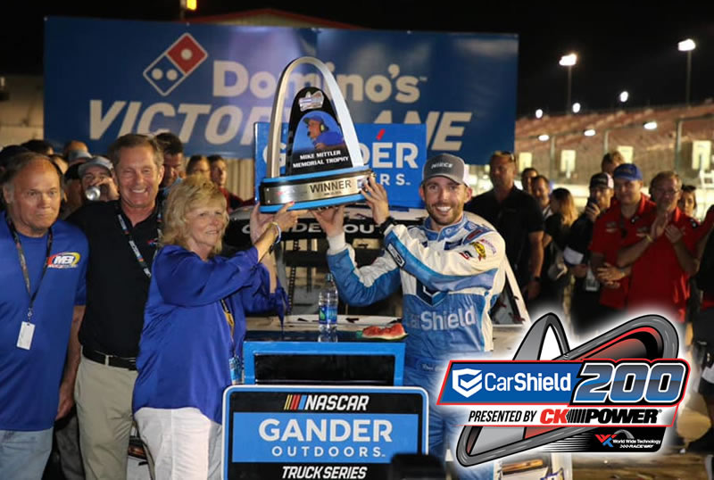 CarShield Has Keys to Victory at NASCAR Race