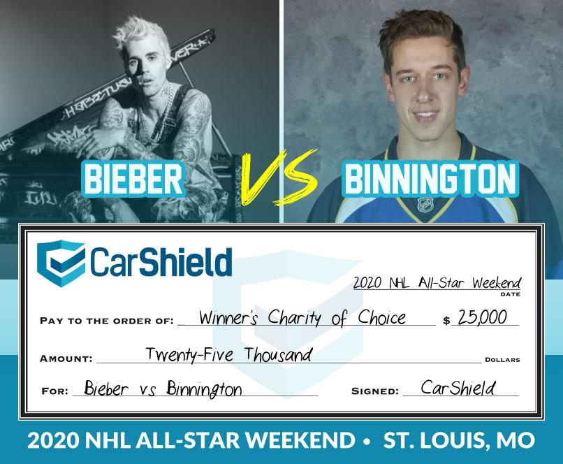 Bieber vs. Binnington Challenge
